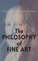 The Philosophy of Fine Art  Vol  1 3