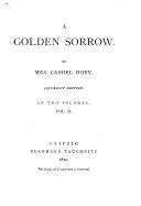 A Golden Sorrow