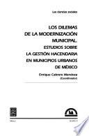 Los dilemas de la modernización municipal