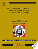 23rd European Symposium On Computer Aided Process Engineering Book PDF