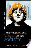 An Introduction To Language And Society Book PDF