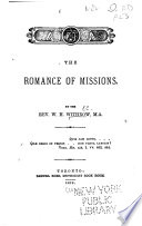 The Romance of Missions Book PDF