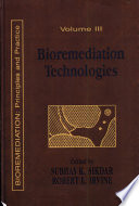 Bioremediation Technologies Book PDF