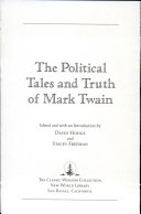 The Political Tales And Truth Of Mark Twain