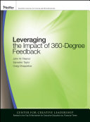 Leveraging the Impact of 360 degree Feedback