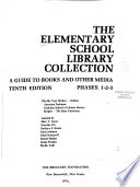 The Elementary School Library Collection
