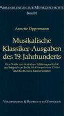 Musikalische Klassiker-Ausgaben des 19. Jahrhunderts