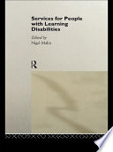 Services For People With Learning Disabilities Book PDF