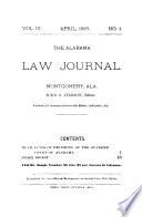 The Alabama Law Journal