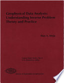 Geophysical Data Analysis  Understanding Inverse Problem Theory And Practice
