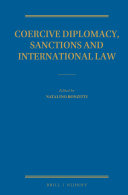 Coercive Diplomacy, Sanctions and International Law