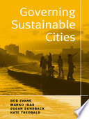 Governing Sustainable Cities Book