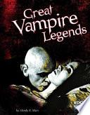 Great Vampire Legends Book