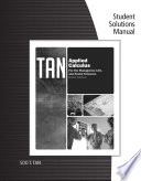 Student Solutions Manual for Tan s Applied Calculus for the Managerial  Life  and Social Sciences  9th Book PDF