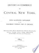 History and Commerce of Central New York