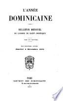 L'Année dominicaine