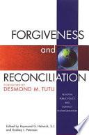 Forgiveness Reconciliation