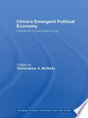 China S Emergent Political Economy Book PDF
