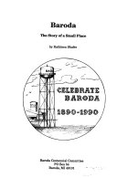 Baroda  the Story of a Small Place Book
