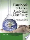 Handbook Of Green Analytical Chemistry Book PDF