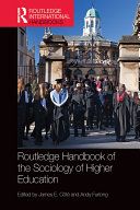 Pdf Routledge Handbook of the Sociology of Higher Education Telecharger