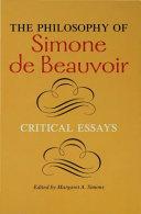 Pdf The Philosophy of Simone de Beauvoir Telecharger