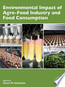 Environmental Impact of Agro Food Industry and Food Consumption Book
