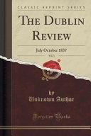 The Dublin Review Vol 3