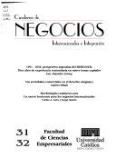 Cuaderno de negocios internacionales e integración