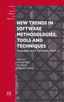 New Trends in Software Methodologies  Tools and Techniques