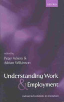 Understanding Work and Employment