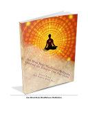 Zen Mind body Mindfulness Meditation Book