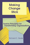 Making Change Stick