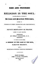 The Rise And Progress Of Religion In The Soul Book PDF