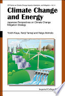 Climate Change and Energy Book