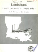 Louisiana forest industry statistics, 1962
