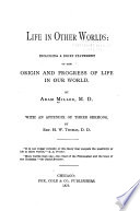 Life in Other Worlds Book