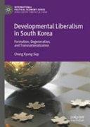 Developmental Liberalism in South Korea