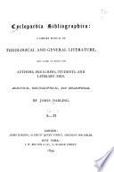 Cyclopaedia Bibliographica Authors