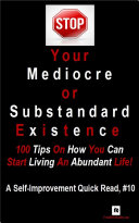 STOP Your Mediocre or Substandard Existence Pdf/ePub eBook