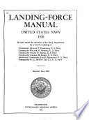 Landing-Force Manual