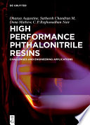 High Performance Phthalonitrile Resins Book