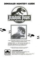 Jurassic Park Dinosaur Hunter s Guide