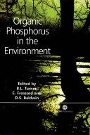 Organic Phosphorus in the Environment