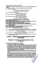 Foster Care Independence Act of 1999