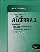 Holt Mcdougal Larson Algebra 2 Common Core