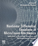 Nonlinear Differential Equations in Micro/nano Mechanics