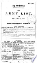 The army list