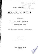 The Original Plymouth Pulpit