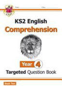 New KS2 English Targeted Question Book: Year 4 Comprehension -